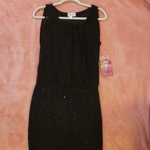 New Black Mini Dress! W/ tags